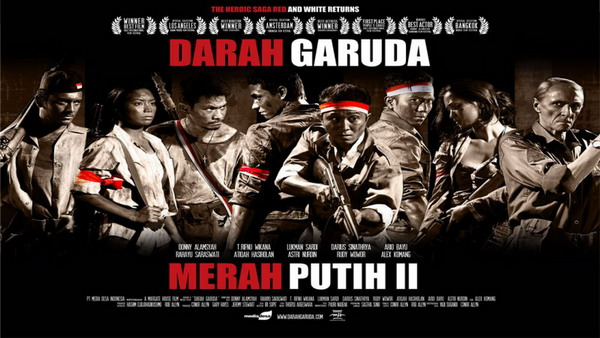 Poster film Darah Garuda
