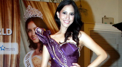Desainer Polinesia Prancis Terbaik di Miss World