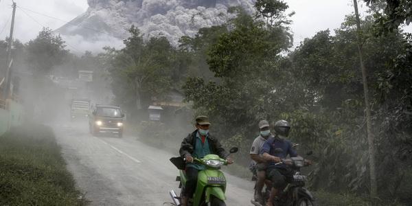 Bahaya Abu Vulkanik bagi Kesehatan