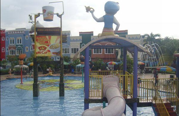 Depok Fantasi Water Park, Wisata Air Bernuansa Arab