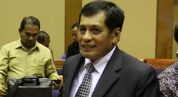 Foto: Ketua Umum PSSI Nurdin Halid/Yudistiro Pranoto (Koran SI)