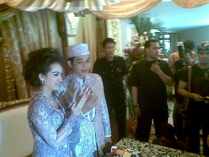Pasha-Adelia resmi nikah (Foto: Iman Herdiana)