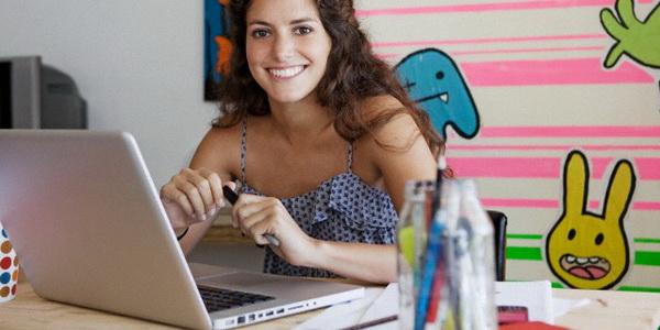 Memulai aktivitas baru yang menyenangkan dengan bekerja di rumah