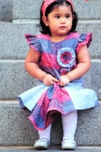 Wow, Koleksi Batik Cucu SBY Ungguli Annisa Pohan
