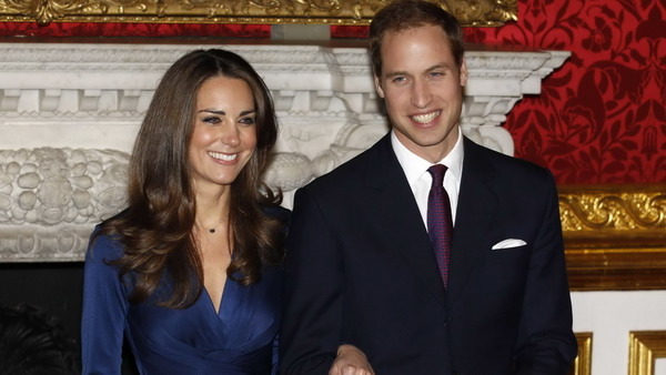 Pangeran William dan Kate Middleton (Foto: Reuters)