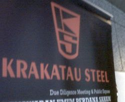 \Krakatau Steel Bagi Dividen Rp6/Saham\