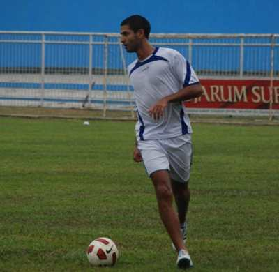 Calon pemain asing Evre Antonio Zarate. Foto: Amir Sarifudin/Okezone