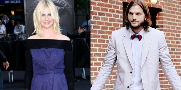 January Jones & Ashton Kutcher (Foto:Wenn)