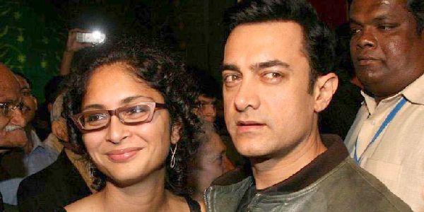 Aamir Khan bersama istri (Foto: Hamaraophoto.com)