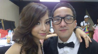 Nikita Willy & Bara Tampubolon (Foto: Yfrog)