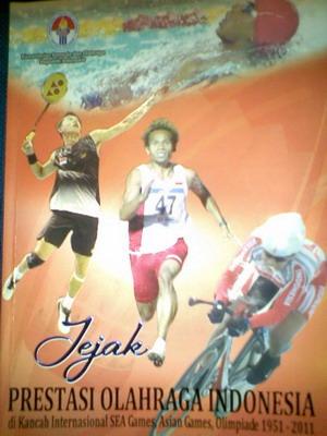 Buku Jejak Prestasi Olahraga Indonesia (Foto: Achmad Firdaus)