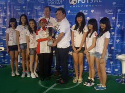 Foto: Suasana konferensi pers Pocari Futsal/A.Firdaus (Okezone)