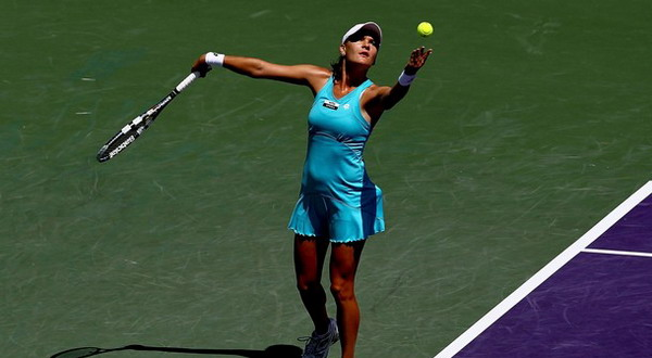 Bagusnya servis pertama Agnieszka Radwanska menjadi kunci kemenangan atas Venus Williams/Getty Images