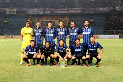 Skuad Inter Milan. (Foto: Heru Haryono/Okezone)