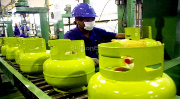 \Harga gas LPG 3 kg di Tangerang Rp16.000\