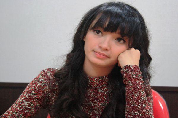 Zaskia Goyang Itik (Foto: Johan/Okezone)