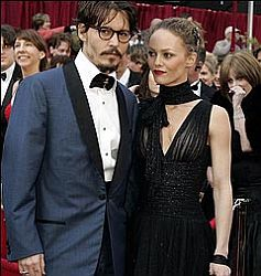 Johnny Depp & Vanessa Paradis (Foto: People)