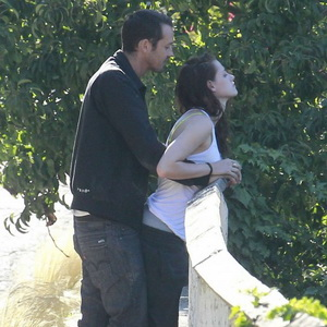 Kristen Stewart dan Rupert (Foto: Usweekly)