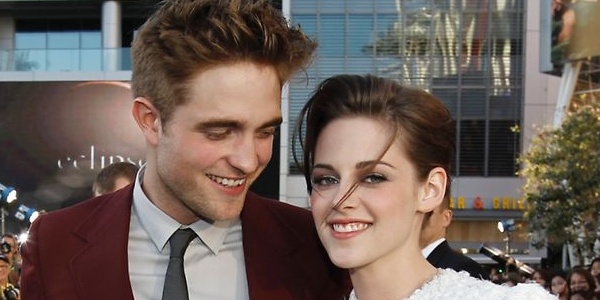Robert Pattinson & Kristen Stewart (Foto: AP)