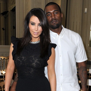 Kim Kardashian dan Kanye West (Foto: gettyimages)