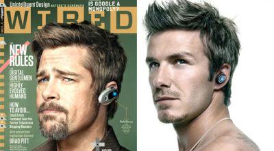 Brad Pitt & David Beckhama (Foto: Popsugar)