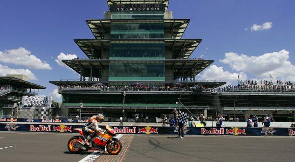 Pembalap Honda, Dani Pedrosa di Indianapolis. (Foto: Reuters)