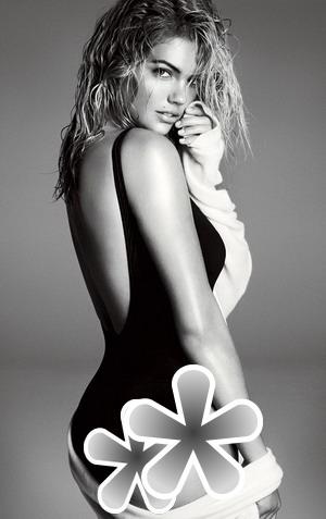 Sampul Vogue, Kate Upton Seksi Berbaju Renang
