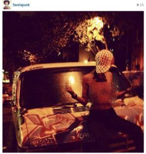 Fahrani Foto Topless di Situs Jejaring Sosial?