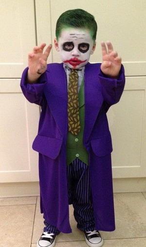 Halloween, Anak Wayne Rooney Mirip Joker