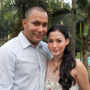 Lyra Virna & Eric  (Foto: Elang/Okezone)