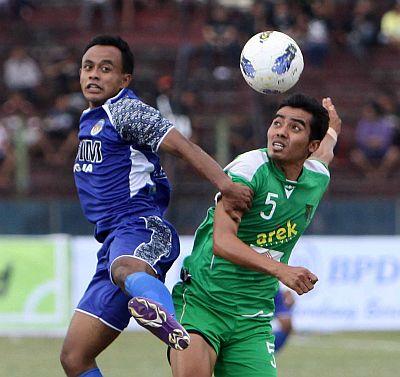 PSIM vs Persebaya. (Foto: Koran SI)