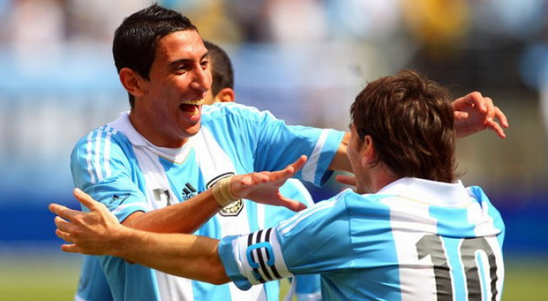 Angel Di Maria dan Lionel Messi, Tetap Menjadi Andalan Tim Tango (Foto: ist)