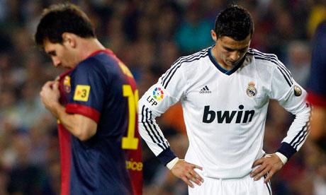 Lionel Messi & Cristiano Ronaldo (Foto: Reuters)