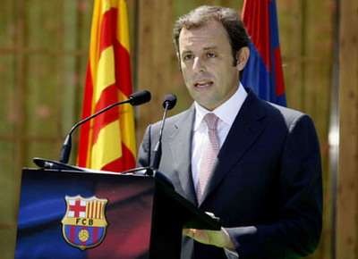 Sandro Rosell (Foto: Barcelona)