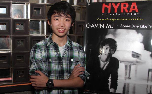 Gavin MJ (Foto: Tomi/Okezone)