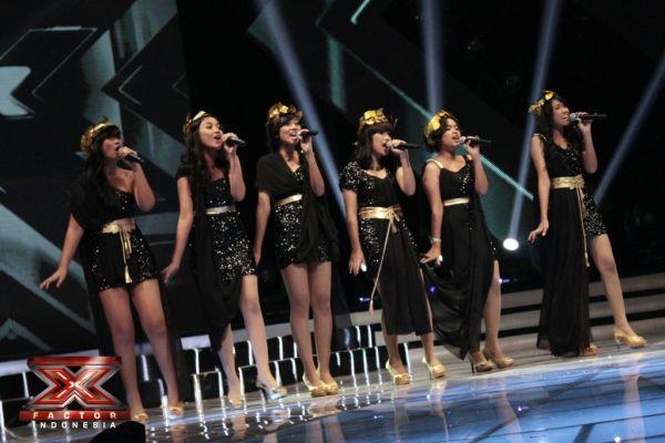 Dalagita saat penampilan terakhir di Gala Show 2 (Foto: Luthfi/okezone)
