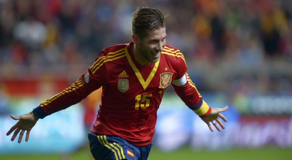 Bek Real Madrid, Sergio Ramos. (Foto: Reuters)