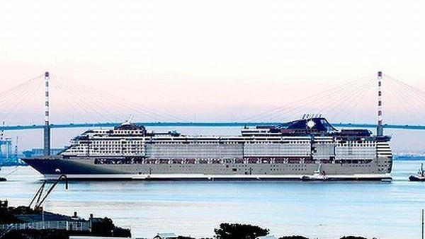Kapal Super Mewah Gaddafi Akhirnya Berlayar