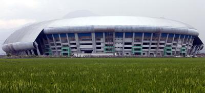 Stadion Bandung Lautan Api.(foto:M Taufik)