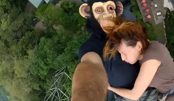 Video Pria 16 Kali Bungee Jumping dalam Dua hari