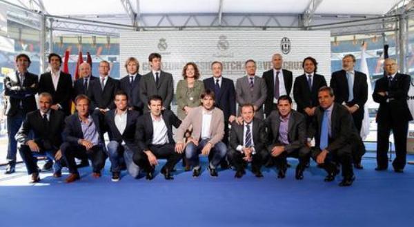 Legenda Juventus dan Real Madrid perbarui rivalitas dalam laga amal (Foto: Realmadrid.com)