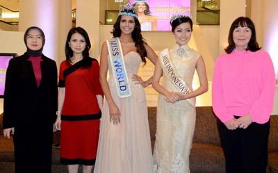 Miss World 2013 Juga Pilihan Dua Juri Indonesia