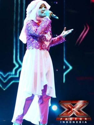 Busana Fatin di Grand Final X Factor Dinilai Kurang Tepat