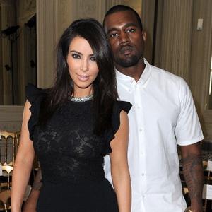 Kim Kardashian-Kanye West (Foto: wenn)