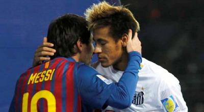 Lionel Messi & Neymar (Foto: Reuters)