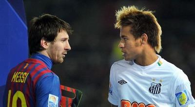 Messi dan Neymar (foto: Reuters)