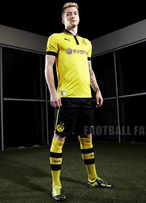 Marco Reus dengan jersey terbaru Borussia Dortmund. (Foto: Football Fashion)