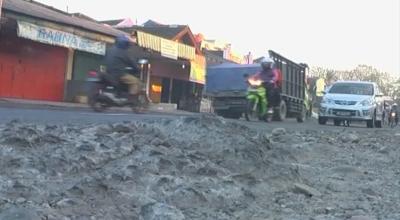 Jalur Alternatif Mudik di Majalengka Rusak Sepanjang 5 Km