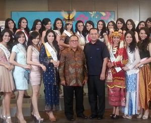 Miss World 2013 di Indonesia Berdayakan Perempuan Dunia
