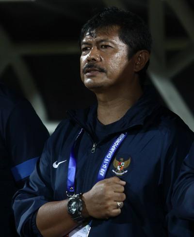 Indra Sjafrie, pelatih Timnas U-19 (Foto: SINDO)
